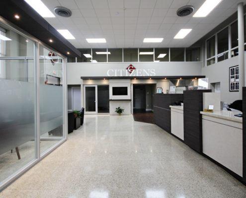 Bank Interior Lobby