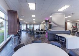 Mercedes Cafe Area