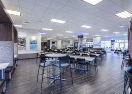 Mercedes Cafe Interior