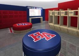 High School Locker Room Design