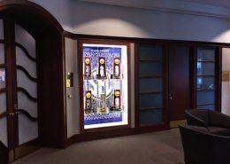 SEC Headquarters Display Case