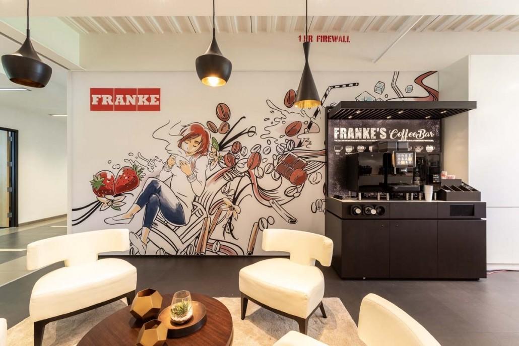 Branded Interior Showroom