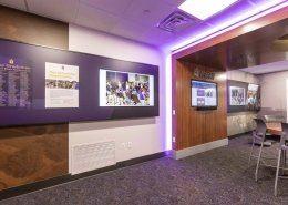 LED lighting and wall display