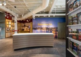 Welcome Center Reception Desk