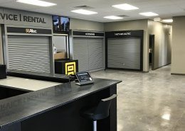 Store front entry