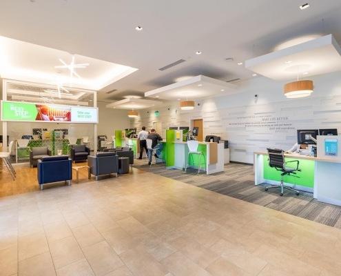 Branded Lobby Design