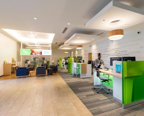 banking interior