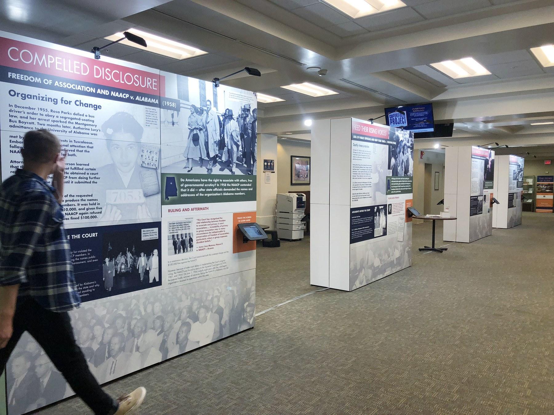 Traveling interactive exhibit